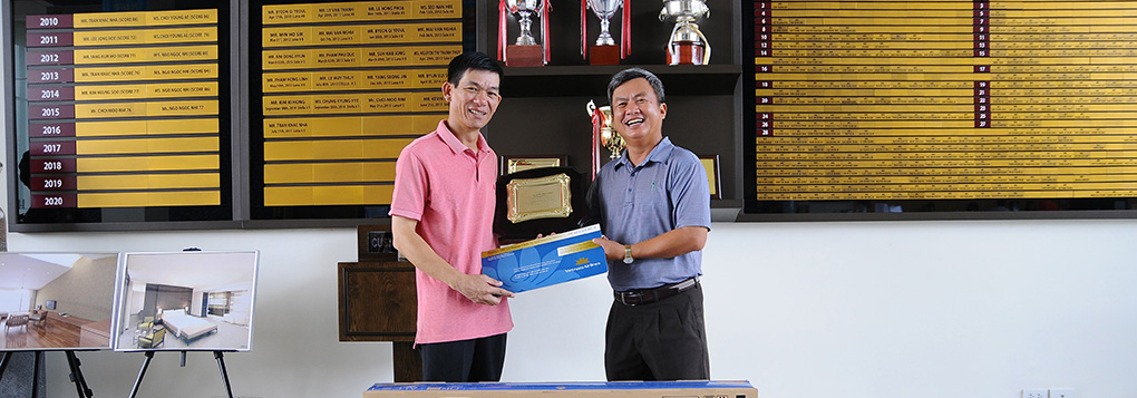 Hole-in-one Mr. Tran Khac Nha