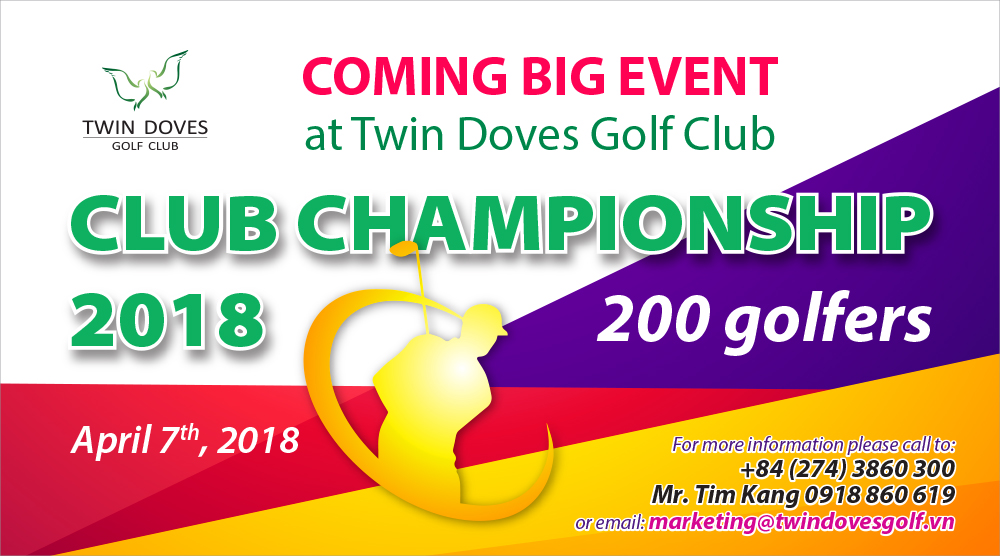 Promotion - Twin Doves Club Championship 2018