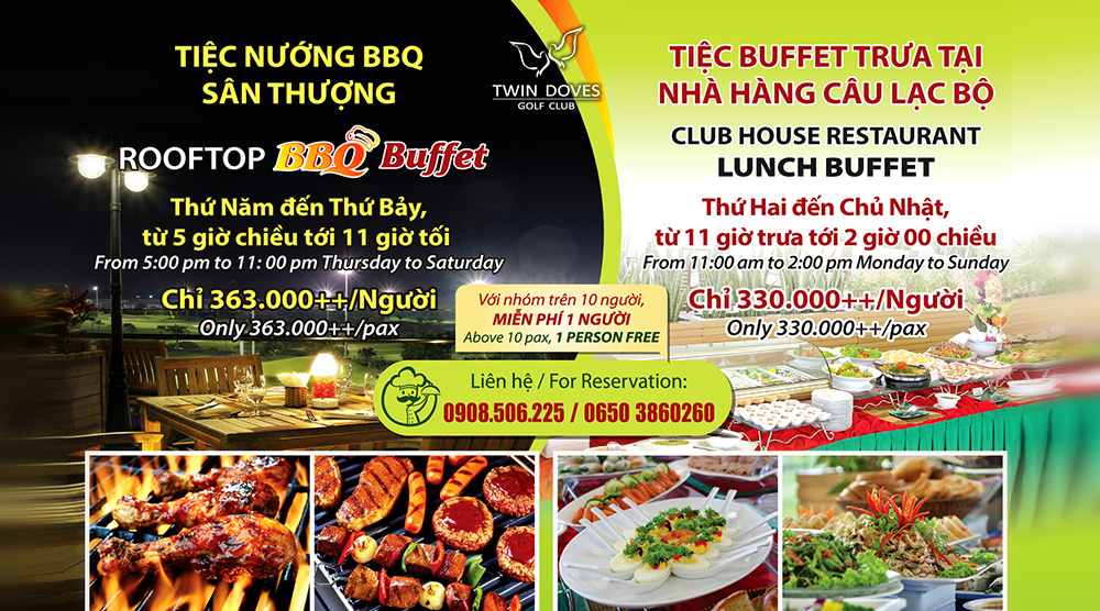 Promotion - BBQ Buffet & Lunch Buffet
