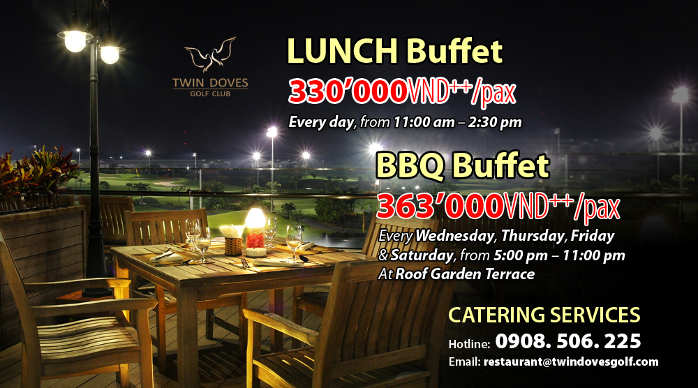 Promotion - restaurant buffet