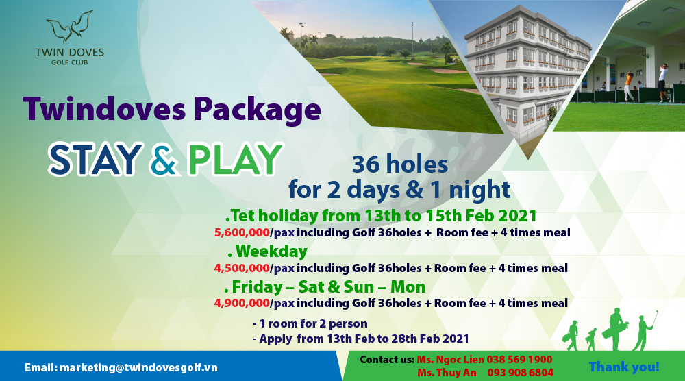 Promotion - STAY & PLAY
